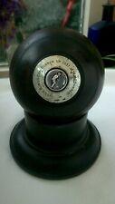 Antique sterling silver presentation lawn bowls bowling jack ball trophy police