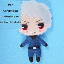 Anime Axis Power Hetalia DIY Hanging Plush Doll Toy Keychain Bag Cosplay#SX-112