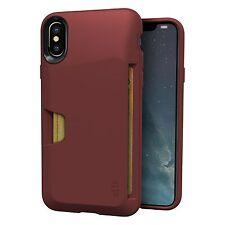 "Silk iPhone X Wallet Case - Vault ""Wallet Slayer Vol 1"" Grip Credit Card Cover"