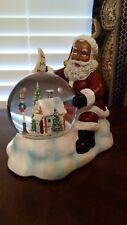 African American Santa Claus Snow Globe (Water Globe)