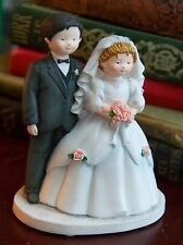 SHERRI BUCK BALDWIN LANG& WISE SPECIAL FRIENDS NOW FOREVER WEDDING CAKE TOPPER