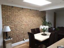 Smoked Peach Brick Slip/Brick Tile/Brick Cladding/Wall Tile SAMPLE