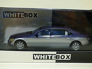 Whitebox Maybach 62 Limousine 2009 met blue/silver REF: WB110