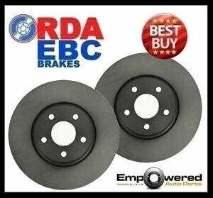 FRONT DISC BRAKE ROTORS with 12 MTH WARRANTY PAIR for Ferrari F40 1988-1992
