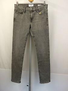 FRAME DENIM L´Homme Designer 5-Pocket Jeans W31 Men Pants Grau