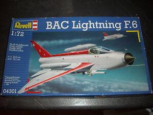REVELL  BAC LIGHTNING F.6  PLASTIC MODEL 1/72