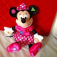 Minnie Mouse Love to Learn Talking Kindergarten Numbers Colors Shapes see VIDEO