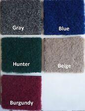 Boat Marine Grade Bass Pontoon Carpet Cut Pile 24oz 8' Custom Length & Color!