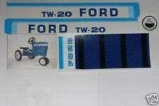 TW-20 Ford Pedal Tractor DECAL SET Ertl Toy FREE Ship Computer Cut