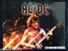 AC/DC Angus On Stage Old OG Vtg 1980`s Photo Card Patch(not shirt lp cd badge)