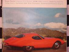 rare 1960 JAGUAR 3.8 / DKW 750 / JENSEN 541 / AUSTIN HEALEY SEBRING SPRITE