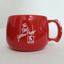 Vintage Real Yellow Pages Coffee Cup