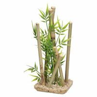 Aquatic Aquarium Decor Bamboo Stick Medium Fish Tank Ornament 9x11x25cm
