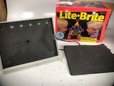 VINTAGE 1994 HASBRO LITE-BRITE WITH Some Misc SHEETS No Pegs