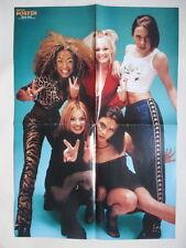 Spice Girls Halliwell Bunton Beckham Keanu Reeves POSTER Swedish Sweden