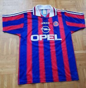 FC Bayern München Trikot 1995/96 Rarität Gr. S mit Gedruckten Unterschriften