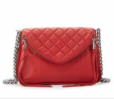 $225 NWT ASH HA Zander Red Quilted Crossbody