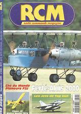 RCM N°233 PLAN : LANGSAM / MOSQUITO JR MODELS / PIPER J3 1M80 / PLANEUR F3I