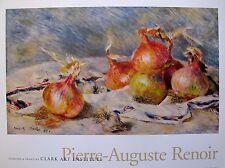 """Pierre Auguste RENOIR """"THE ONIONS"""" Facsimile Signed Art Lithograph"""