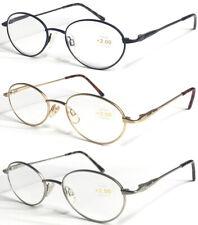 L50 Superb Quality Optical Reading Glasses/Spring Hinges/Vintage Style Designed