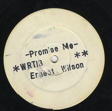"""Ernest Wilson – Promise Me ORIG UK 12"""" EX PRE Techniques – WRT 13"""