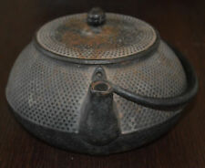 Japanese Antique IWACHU Tea Pot Kettle Tetsubin Chagama Cast Iron