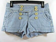 --- Zana Di Size 3 Women's Shorts 5 Pockets Sailor Button Front Detail
