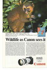 1989 Canon EOS 1 Camera Advertisement