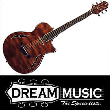 Crafter SA-BUB Slim Arch Body Bubinga Top Electro-Acoustic With Case RRP$1399