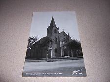 1940s CATHOLIC CHURCH LONGMONT COLORADO REAL-PHOTO RPPC POSTCARD
