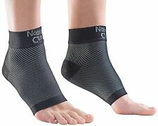 NatraCure Plantar Fasciitis Socks - Compression Foot, Ankle, Heel Sleeves - M