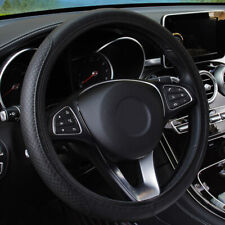 """15"""" Black PU Leather Car Steering Wheel Cover for Auto Car Accessories Universal"""