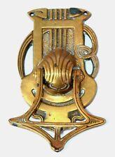 Art Nouveau Brass Knocker Door Made in Germany Ges Gesch