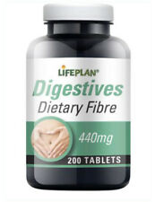 Lifeplan Dietary Fibre 440mg 200 Tablets