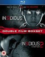 Insidious/Insidious - Chapter 2 [Blu-ray] [DVD][Region 2]