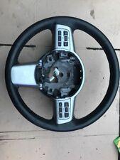 MAZDA 2 Mk2  Black Leather Multifunction Steering Wheel 2007-2015