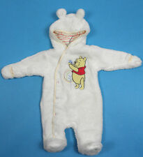 DISNEY WINNIE THE POOH BABY GIRL CREMA SOFFICI con cappuccio Snowsuit Età 6 mesi 80 cm