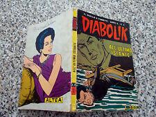 DIABOLIK ANNO X ORIGINALE N.3 DEL 1971 M.BUONO TIPO KRIMINAL SATANIK KILLING