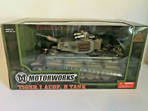 Motorworks 1/18 German Tiger I Ausf. E, Rare Winter Verison - Mint Condition