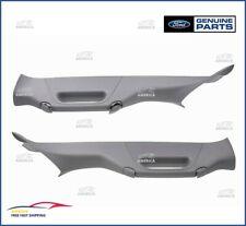 (2) OEM FORD 2011-2016 F250 F350 Super Duty Pillar Handles Right&Left Gray Trim