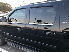 Chevrolet Chevy Suburban Avalanche 10-14 Chrome Window Sill Stainless Steel