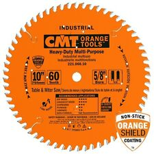 CMT 221.060.10 Industrial Cabinetshop Saw Blade, 10-Inch x 60 Teeth