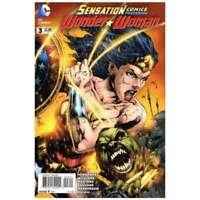 Sensation Comics featuring Wonder Woman #3 in NM + condition. DC comics [*80]