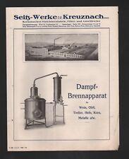 Kreuznach, 2 x 1924 prospetto, Seitz-Werke GmbH macchine-fabbrica FILTRO-Werke