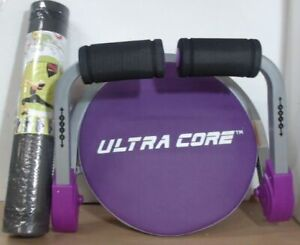 NEW OPEN BOX PLH Fitness Ultra Core Max With Yoga Mat, Purple $100