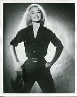 PAT HORN ACTRESS & DANCER IN SO THIS IS PARIS SIGNED PHOTO AUTOGRAPH
