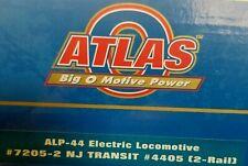 Atlas ALP-44 Electric Locomotive #7205-2 NJ Transit #4405 2 Rail Train Model RR