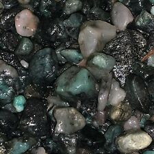 3000 Carat Lots of SMALL Natural Emerald Rough + a FREE faceted gemstone