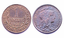 1 Centime 1903 Dupuis. Bronze. France. Belle qualité. Patine