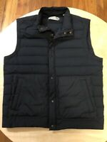Vince Down Filled Vest Size Medium Dark Blue Great Condition Originally $398